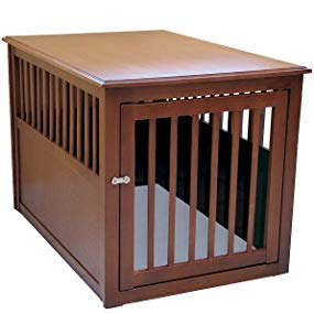 wood pet dog crate