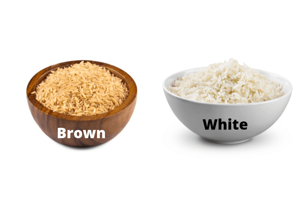 brown rice vs white rice differences